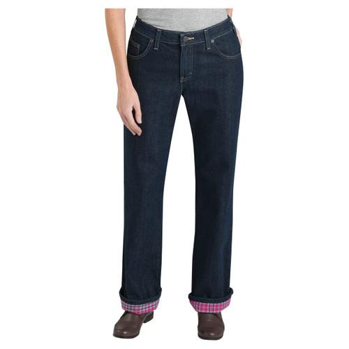 Dickies Women's Flannel Lined Work Pants - FD117