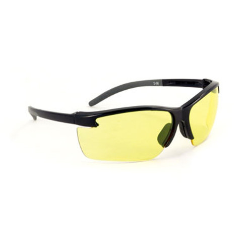 MSA Pyrenees Safety Glasses w/ Amber Anti-Fog Lens