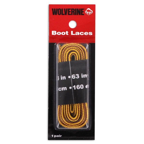 Wolverine 63in Gold Boot Laces W69410