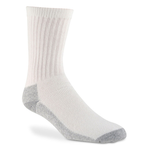 Wigwam At Work Crew Socks - 3 Pack - S1221 White