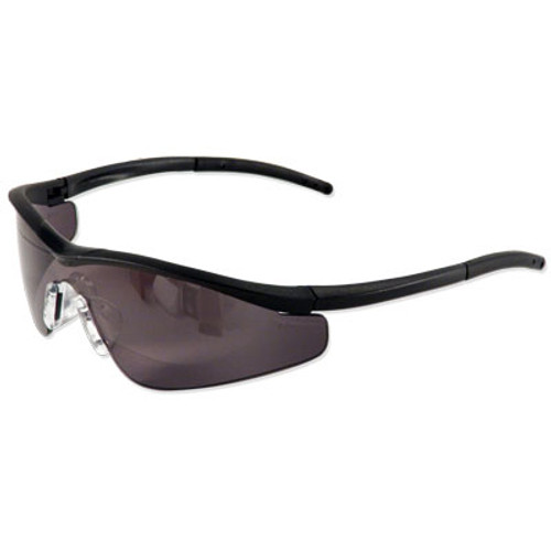 Crews Triwear Safety Glasses with Gray Lens