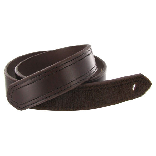 Boston Men's Leather 1 1/2in Hook and Look Tipped Leather Belt 6530