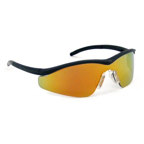 Crews Triwear Safety Glasses with Fire Lens
