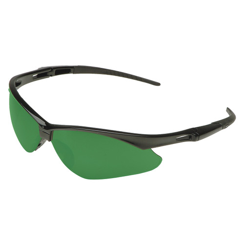 Jackson Nemesis VL Safety Glasses - Green IRUV 5.0 Lens