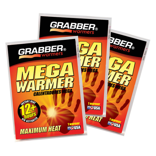 Grabber 12 Hour Mega Warmers - 3 Pair/Pack