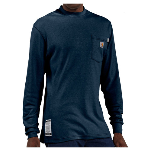 Carhartt Men's Flame Resistant Long Sleeve T-Shirt FRK294
