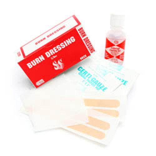 1 oz. Burn Gel Plus, Dressing and Tape Pack of 4