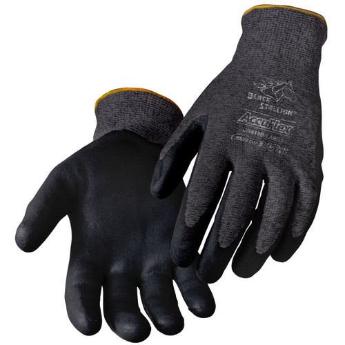 Black Stallion AccuFlex A3 Cut Resistant Nitrile-Coated Gloves - GR4130