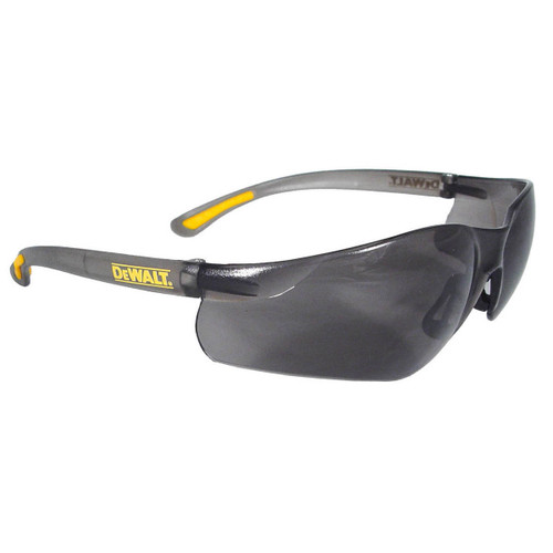 DeWalt Contractor Pro Safety Glasses - Gray Smoke Lens