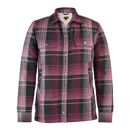 Wolverine Women's Rosewood Sherpa Lined Shirt Jacket - W1205010