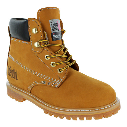 Safety Girl II Insulated Work Boot - Tan