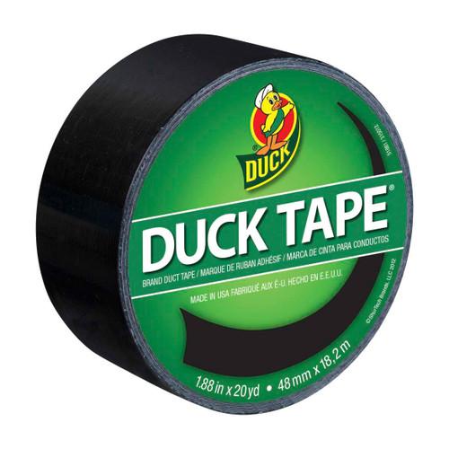 Duck Black Duct Tape 1.88 in x 20 yd