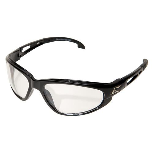 Edge Dakura Safety Glasses with Black Frame - Anti-Reflective Lens