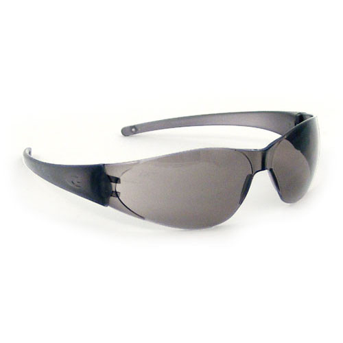 Crews CheckMate Safety Glasses with Gray Lens