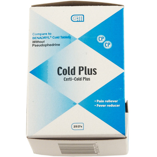 Cold Plus Tablets  50 Tablets
