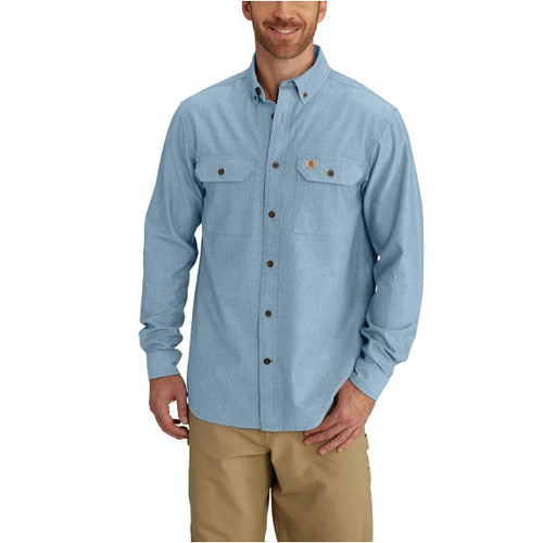 Carhartt Men's Long Sleeve Chambray Shirt - S202