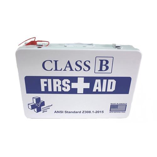 Class B, Metal First Aid Kit - K615-019