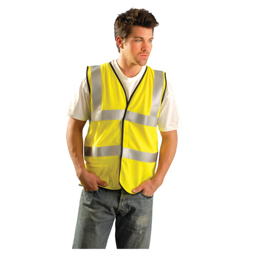 Occunomix Flame Resistant Safety Vest - Dual Stripe