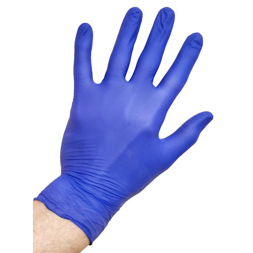 Monogram Nitrile Disposable Gloves - Blue - Powder Free - Box of 250