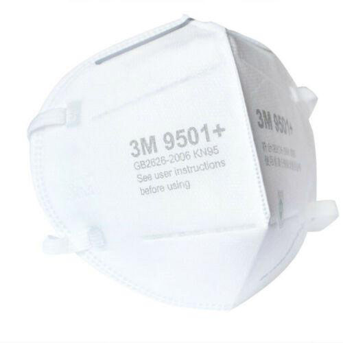 3M KN95  Protective Face Mask 9501 With Elastic Ear Loops