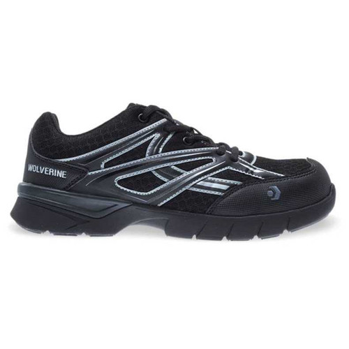 Wolverine Women's Black JetStream Carbonmax Safety Toe Shoes - W10677