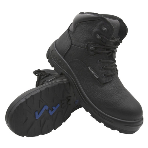 Genuine Grip Men's S Fellas Black Poseidon Composite Toe WP Work Boots