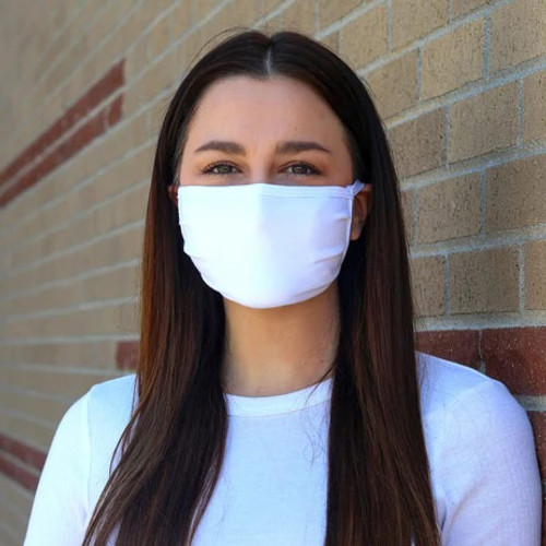 Soft Cotton Duck Brand Face Mask with Optional Filter - Comfortable For All Day Wear - Large, Medium or Youth Sizes