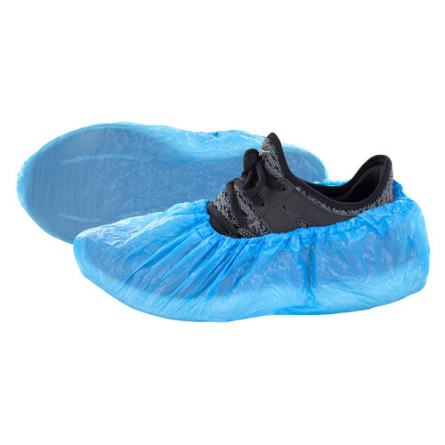 50 Pair Disposable CPE Shoe Covers