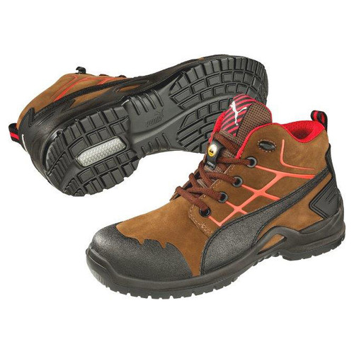 Puma Safety Women's Krypton Brown Steel Toe Boot - 634235