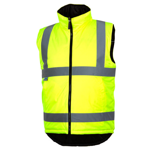 Pyramex High-Vis Reversible Insulated Vest- RWVZ4510
