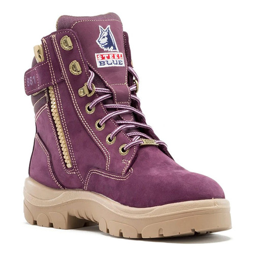 Steel Blue Ladies Southern Cross Zip: PR Midsole Steel Toe Boot - 892861