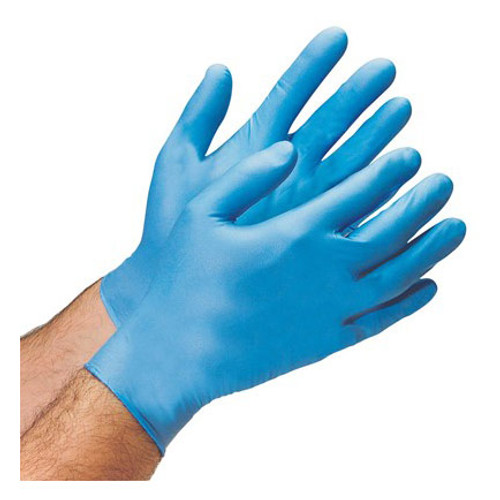 Nitro-V™ Disposable Nitrile Equivalent Gloves: Available in S, M, L, XL