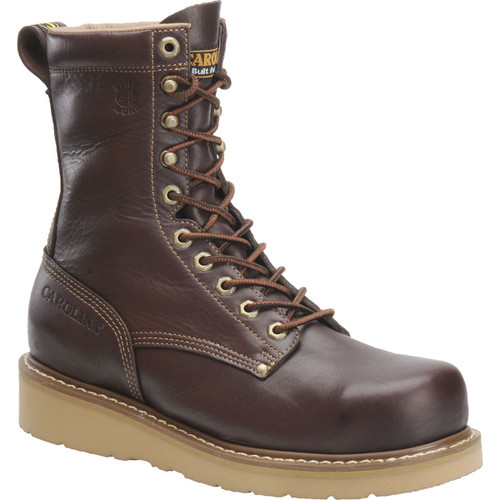 Carolina Classic Work 8in Broad Toe Boots - CA8049 - 12D - Clearance