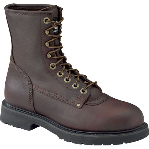 Carolina 8 Inch Grizzly Work Boots - 8010 - Plain Toe -  9.5EEE - Clearance