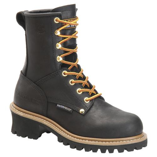 Carolina Womens Boot Waterproof Logger 420 & 1420 Steel Toe 7M - Clearance