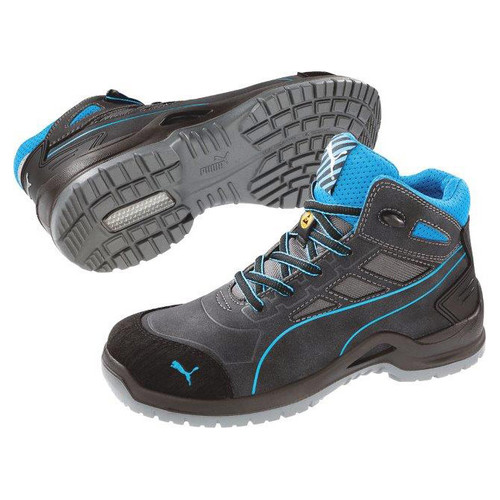 Puma Safety Women's Beryll Blue Steel Toe Boots - 634055