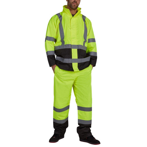 Utility Pro Basic Waterproof Rain Jacket - UHV822