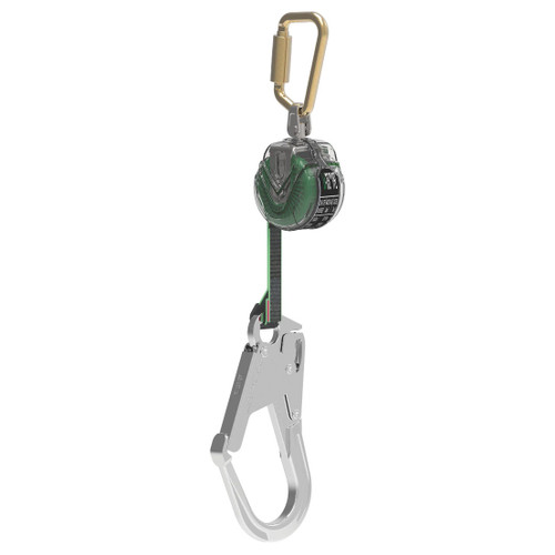 MSA V-TEC™ 10' PFL Retractable Lanyard, AL36CL Snaphook