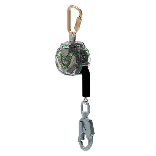 MSA V-TEC™ 10' PFL Retractable Lanyard, 36CSN Snaphook