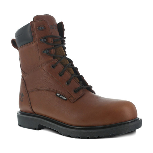 "Iron Age Hauler Men's Brown 8"" Waterproof Work Boot"