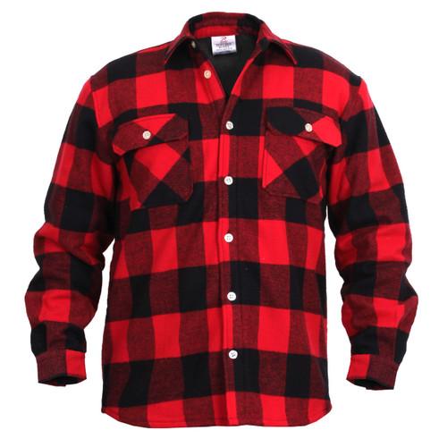 Rothco Fleece Lined Flannel Shirt
