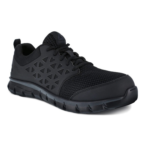 Men's Reebok Sublite Cushion Work Safety Toe Athletic Shoes - RB4039
