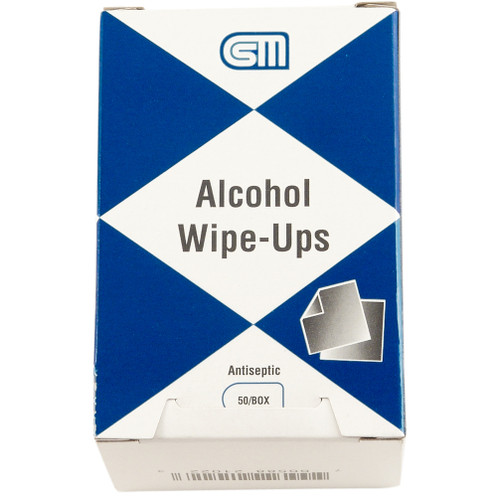 Alcohol Wipe Ups, 100 pack