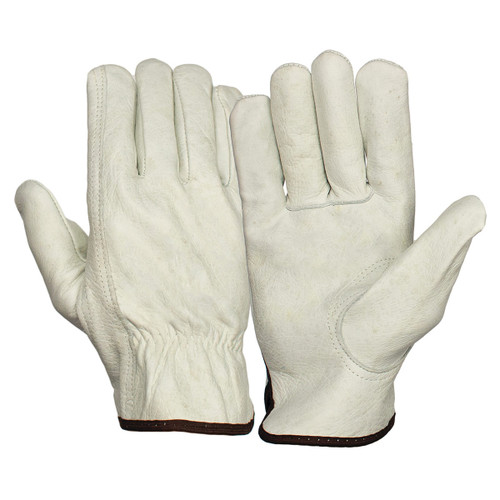 Pyramex GL2001K Cowhide Leather Drivers Gloves - Single Pair
