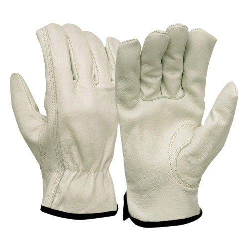 Pyramex GL2004K Select Cowhide Leather Drivers Glove - Single Pair