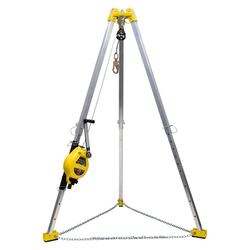 FrenchCreek's S50G-7 Confined Space System with Tripod & SRL