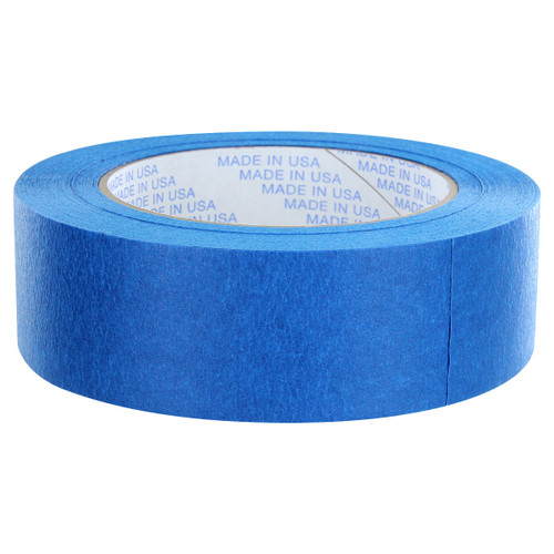 Rugged Blue M187 Painters Tape 1.5in x 60yd - 21 Day Clean Release