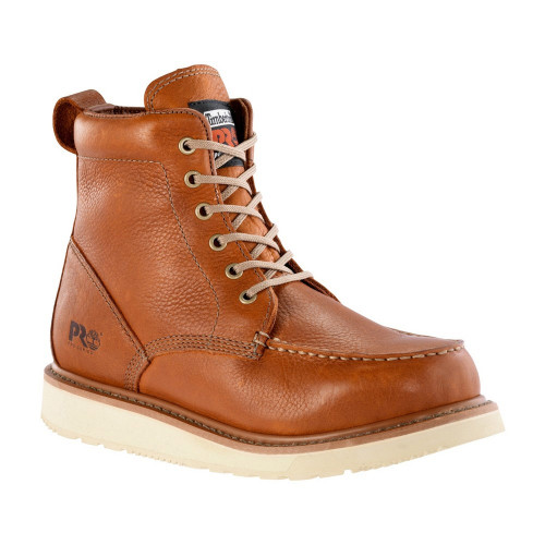 """Timberland Pro Men's 6"""" Wedge Leather Boots - 53009"""