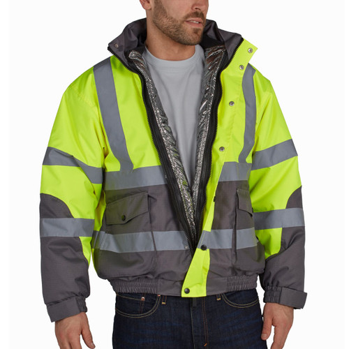 Utility Pro Warm Up 3 In 1 Bomber Jacket - UHV887