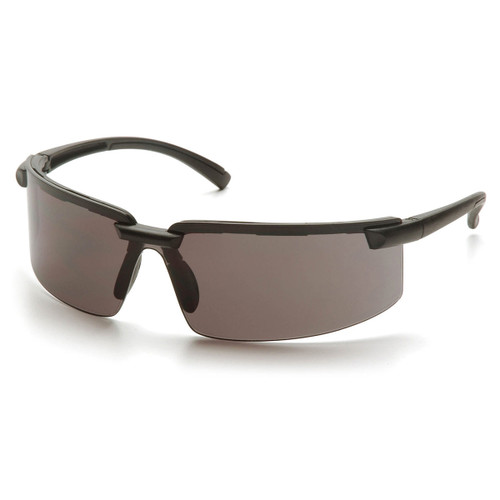 Pyramex Safety Surveyor Safety Glasses - Black Frame/Gray Lens